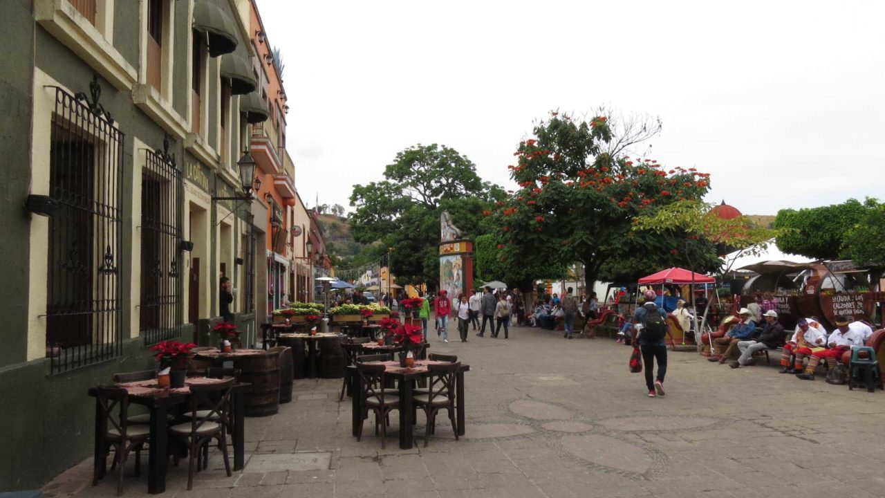 The small town of Tequila